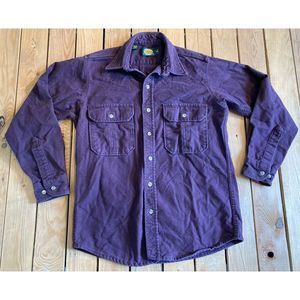 Cabelas Long sleeve button up flannel shirt